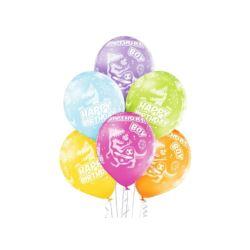 """Balon, foliowy 18"""" QL CIR """"1 dla dzieewczynki"""""""