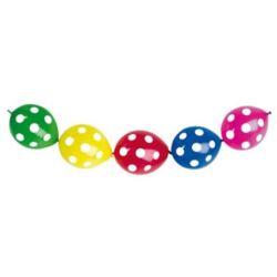 "Balon GLS13 pastel ""Do girland""-""Grochy"" 25 szt."