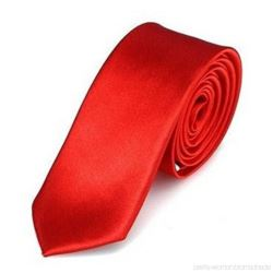 balony, balony na hel, dekoracje balonowe, balony Łódź, balony z nadrukiem, Krawat SLIM - czerwony