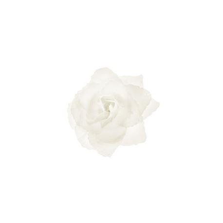 Różyczki do przylepienia,kremowy 9 cm