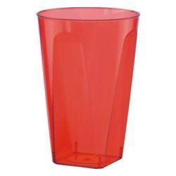 Kubeczki BBS plastikowe,kolor czerwony,6szt.