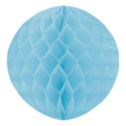 Kula dekoracyjna, błękitna, śr.30 cm 1 szt.