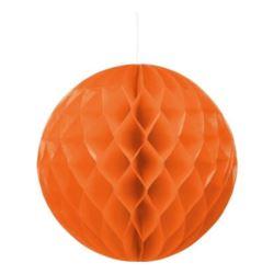 Kula dekoracyjna, pomarańczowa śr. 30 cm