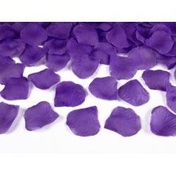 Płatki róż w woreczku, fiolet 100 szt.