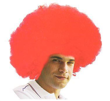 """Peruka """"Mega Afro czerwone"""""""