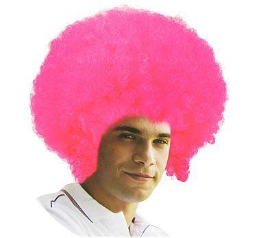 """Peruka """"Mega Afro różowe"""""""