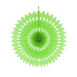 Rozeta dekoracyjna pistacjowa, śr.40 cm