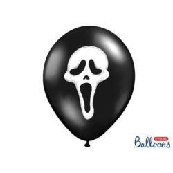 Balony 30 cm,Krzy,k Pastel Black 6 szt.