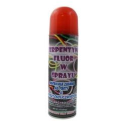 "Serpentyna ""Fluor"" w sprayu, czerwona, 250 ml"