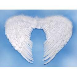 Skrzydła anioła, białe 76x55 cm 1 szt.