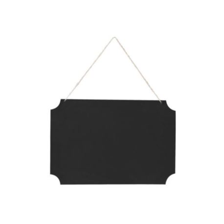 Tabliczka wisząca do napisów, czarny