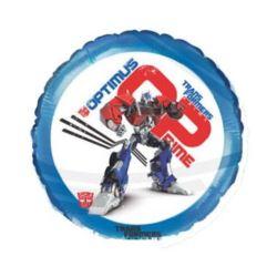 """Balon, foliowy 18"""" FX - """"Transformers""""(okrągły)"""