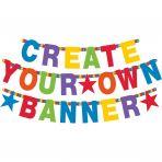 Baner z napisem Urodziny - kolor