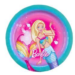 Talerz papierowe Barbie Dreamtopia 18 cm