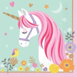 Serwetek Magical Unicorn 33 cm