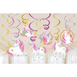 Dekoracyjnych spirali Magical Unicorn