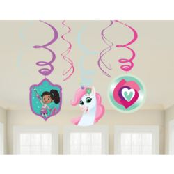 "Spirale dekoracyjne ""Nella The Princess Knight"""