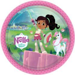 """Talerze """"Nella The Princess Knight"""" 23 cm 8szt."""