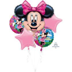 """Bukiet balonów """"Myszka Minnie"""" op. 5 szt."""