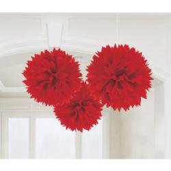 balony, balony na hel, dekoracje balonowe, balony Łódź, balony z nadrukiem, Girlanda 40,6 cm czerwony