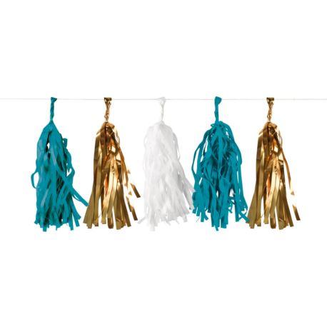 balony, balony na hel, dekoracje balonowe, balony Łódź, balony z nadrukiem Girlanda Pineapple Vibes