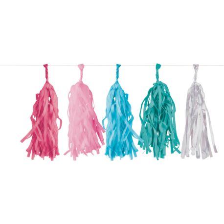 balony, balony na hel, dekoracje balonowe, balony Łódź, balony z nadrukiem Girlanda Flamingo Paradise