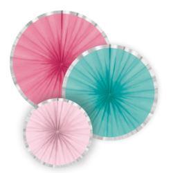 balony, balony na hel, dekoracje balonowe, balony Łódź, balony z nadrukiem, Dekoracje Flamingo Paradise 3szt.