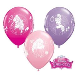 "Balon QL 12"" z nadr. Disney Princess Camoes"""