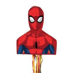 balony, balony na hel, dekoracje balonowe, balony Łódź, balony z nadrukiem, Pull-Pinata Spiderman