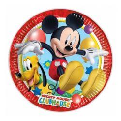Talerzyki papierowe - Playful Mickey 20cm