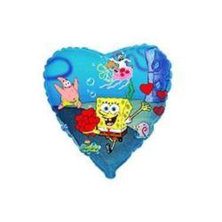 """Balon, foliowy 18"""" FX - """"Spongebob"""""""