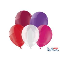 Balony Strong 27cm, Crystal Mix 10szt.