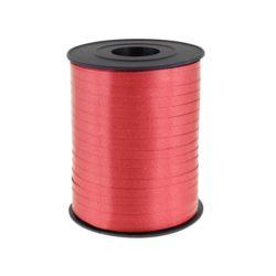 Tasiemka pastelowa czerwona/7171 , rozm. 5mm x 500