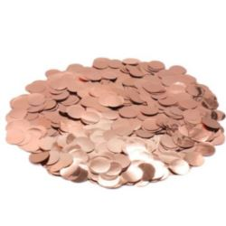 Konfetti do balonów rose gold 50 g