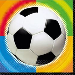 Serwetki Piłka Nożna 33 x 33 cm