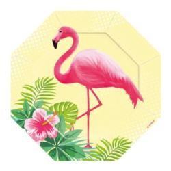 Talerze Flamingo Paradise 18 cm 6 szt.