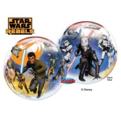 "Balon, foliowy 22"" QL Bubble Poj.""Star Wars Rebels"
