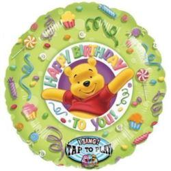 """Balon śpiewający 28"""" """"Winnie the Pooh"""""""