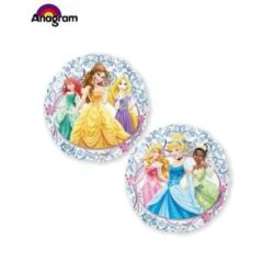 Balon, foliowy przeźroczysty Princess- księżniczka