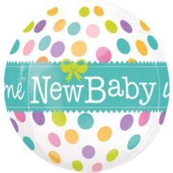 Balon, foliowy narodziny dziecka ORB
