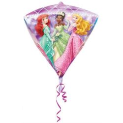 """Balon, foliowy diament """"Księżniczki"""""""