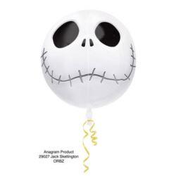Balon foliowy Orb kula Halloween- Jack Skellington