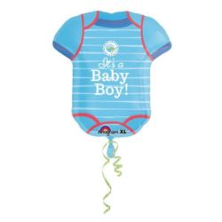 "Balon foliowy ""Body -Baby Boy"""