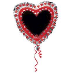 "Balon foliowy ""Serce"" 71x71 cm"