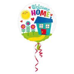 "Balon, foliowy ""Welcome Home"""