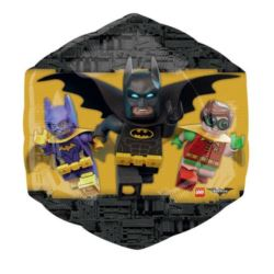 "Balon foliowy ""Logo Batman"" 55x58 cm"