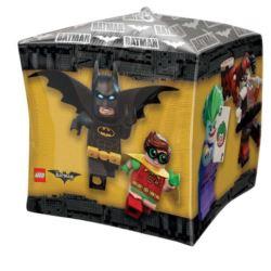 Balon foliowy kostka Lego Batman 43x43 cm 1 szt.