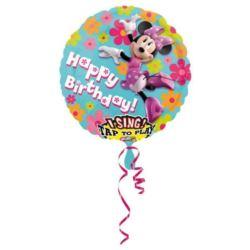 Balon grający Myszka Minnie HB 71 cm