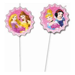 """Rurki (słomki) z medalionem """"Princess Dreaming"""", 6"""