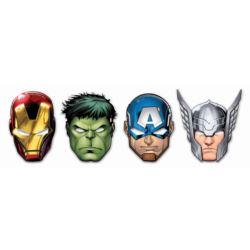 """Maska papierowa """"Mighty Avengers"""", 6 szt."""